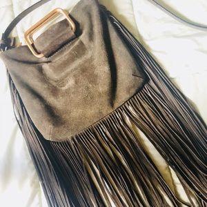 Zara Fringe used bag